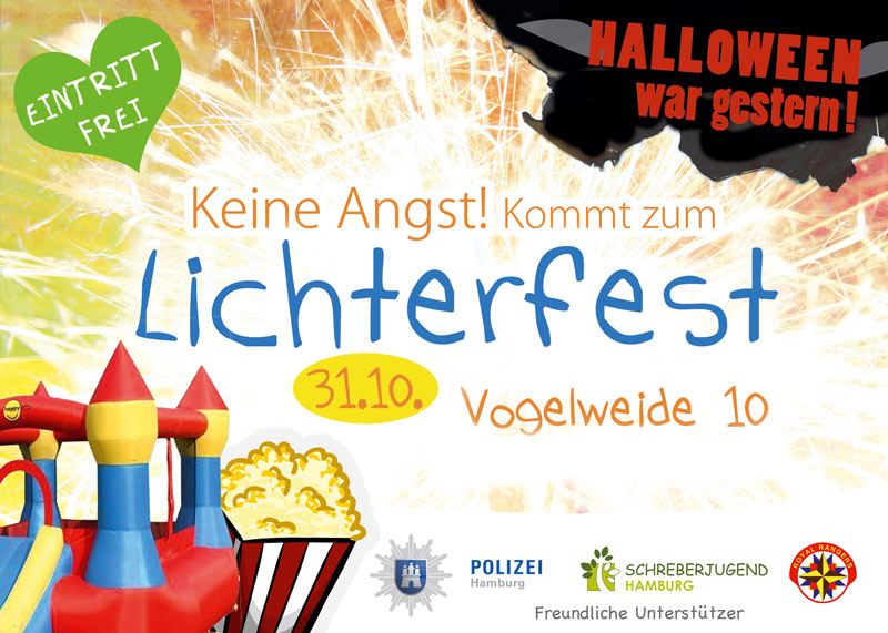 Lichterfest am 31.10. 16:00